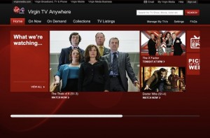 Virgin Media Launch On-Demand Challenger TV Anywhere