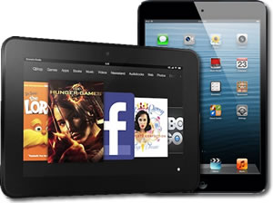 Kindle Fire beating iPad this xmas