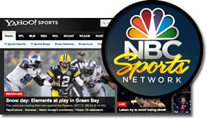 Yahoo! And NBC Partner To Bring Streaming Sports To Fans