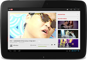YouTube Updates Both Mobile And Tablet Device Apps