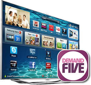 Demand5-Samsung-Smart-TV