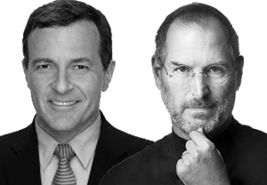 Disney CEO Bob Iger Comments On Late Steve Jobs