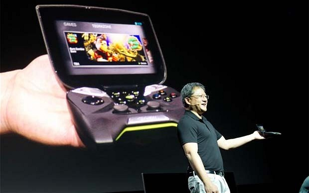 nVidia Reveal Handheld Game Console Doubling As Android