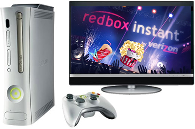 Xbox 360 The Only Console To Get Redbox Instant