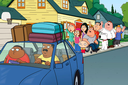Family Guy Cleveland Show