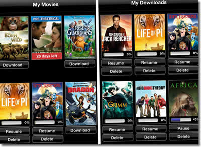 Vudu For iOS Gets Movie Download Option For Offline Viewing
