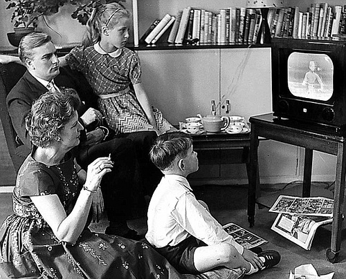 Ofcom announce return to 50s style living rooms thanks to for House music tv