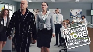 Bruce Willis Sky Broadband Commercial Banned By Asa