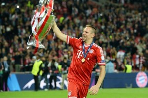 UEFA Champions League - Ribery 2012-13 winner