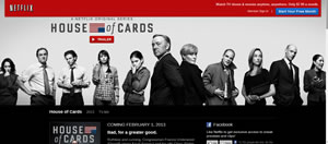 House of cards netflix season 1