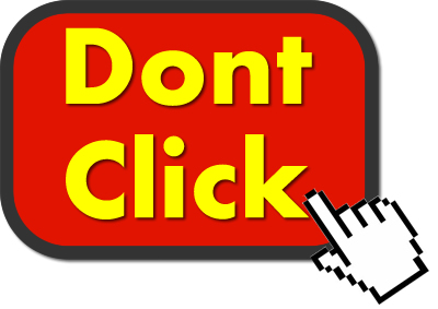 Caution When Clicking Those Links