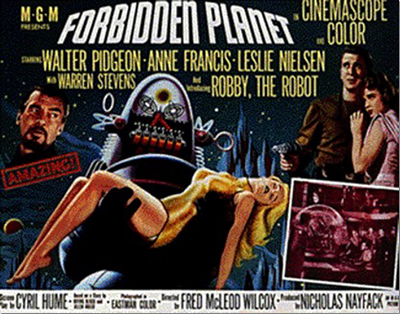an analysis of the classic science fiction movie forbidden planet I'll be reviewing some of the greatest science fiction movie classics forbidden planet is the first movie in 3 responses to classic reviews: forbidden planet.