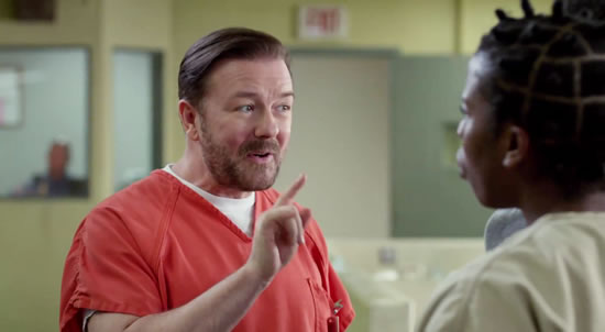 Netflix Acquires Ricky Gervais Movie for 2016 - One News ... |Ricky Gervais Movies