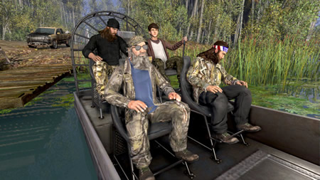 Networks announce duck dynasty video game