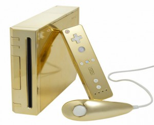 Gold Plated nintendo wii supreme