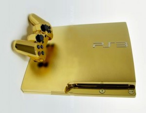 Gold Plated Playstation Supreme