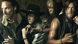 The Walking Dead Cast Ready to Fight