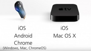 Chromecast vs AppleTV
