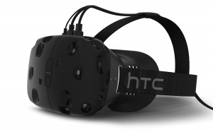 HTC Vive White VR headset