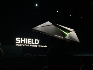 Shield from NVidia worlds first android tv console