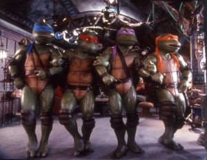 Dancing Ninja Turtles