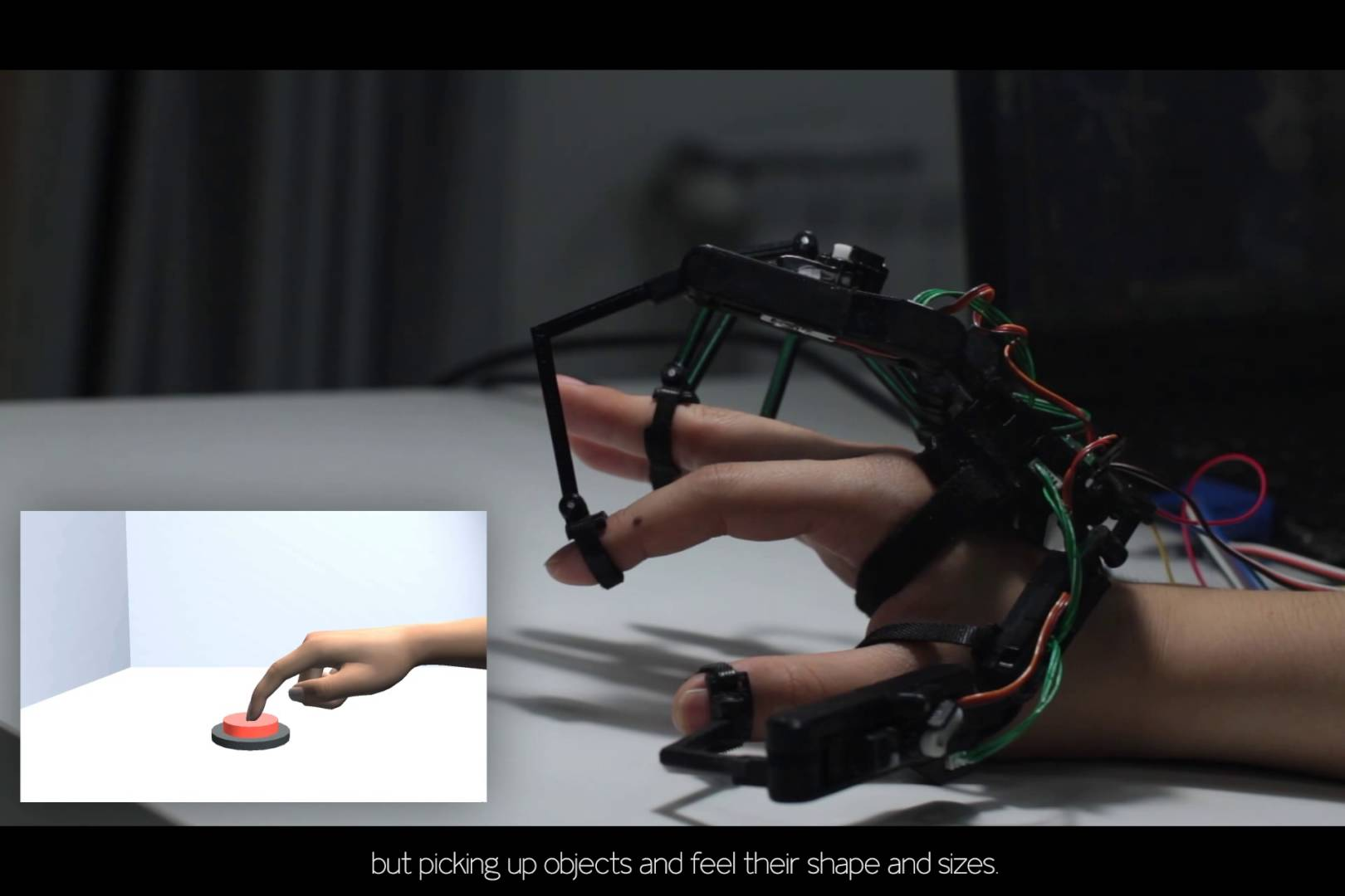 news finger devices users touch objects virtual reality