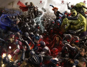 Avengers Age of Ultron Collage