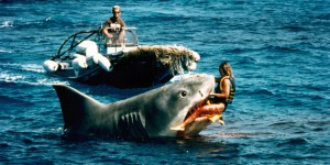 The filming of Jaws