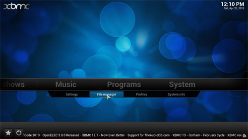 how to add fusion to xbmc