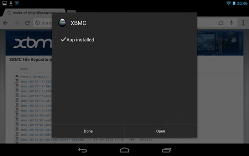 how to open a m3u8 android player