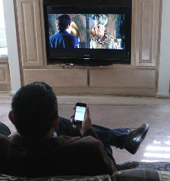 movie interaction with your iphone