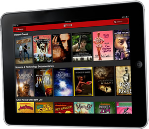 how to connect netflix to tv from ipad