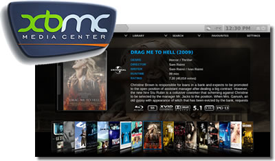 XBMC turns your pc into a media center