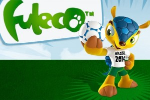 2014 FIFA World Cup - Fuleco Poster