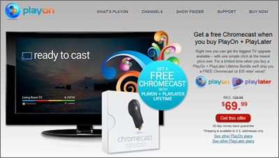 Playon-Chromecast