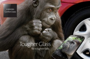 Corning with a gorilla glass