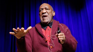 Bill Cosby performing