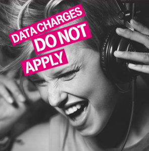 Data charges is not applicable