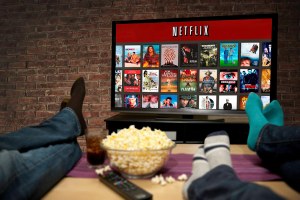 Netflix takes a third of the internet capacity