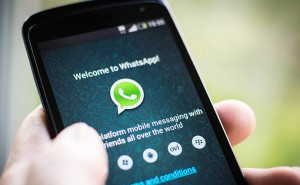 WhatsApp application phone