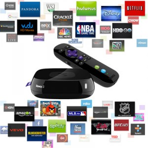 Roku with over 2000 channels