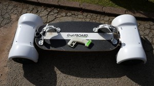 Golfboard - the smart skateboard