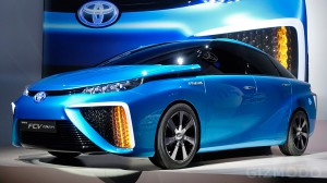 Toyota Motor Hydrogen Fuel Cell Car