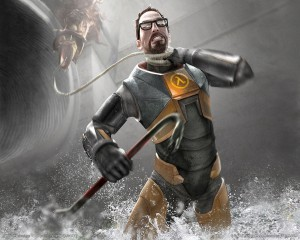 Half Life 2 in-play art