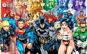 The DC Comics universe
