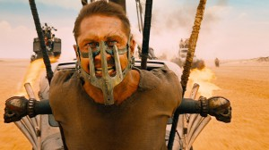 Mad Max Tom Hardy strapped