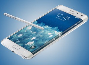 Samsung Galaxy Note edge with pen
